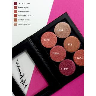 Melkior Eyeshadow Chocolate BOX nr 1.