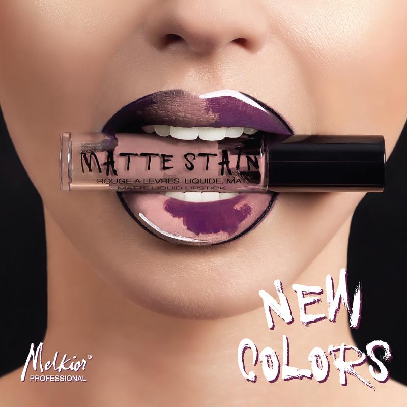 Pasitikite naujus Matinių skystų lūpų dažų atspalvius!