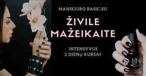 Prisiliesk prie moteriškumo paslapčių per dvi dienas intensyvių manikiūro mokymų!