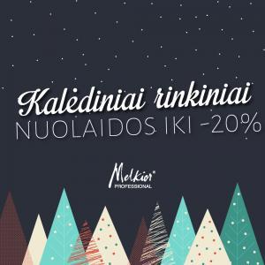 Melkior Professional kalėdiniai kosmetikos rinkiniai