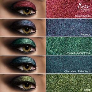 Įspūdingam įvaizdžiui rinkitės Naujus Melkior žėrinčius pigmentus bei blizgučius!